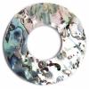Shell Pendant 40mm Ring Shape Abalone